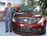 Tata Motors rolls out Aria