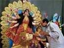Navratri celebrations in the City