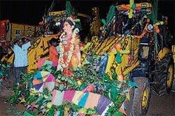 Ayudha pooja celebrated