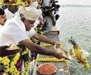 Chief Minister's thanksgiving  to Cauvery