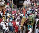 Dasara tableaus on social issues give food for thought