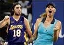 It's love match for Sharapova