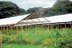 Land row halts work on 'Raitha Santhe'