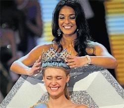 American teen crowned Miss World