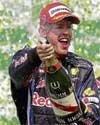 Vettel sizzles in Brazil