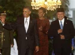 Obama returns to childhood home Indonesia