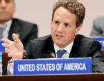 Geithner moves to soothe G20 currency tensions