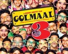 'Golmaal 3' grosses Rs.117 crore worldwide in initial week
