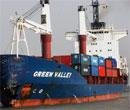 Ship sinking  in Hooghly  after collision