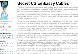 Wikileaks' latest release includes 3,038 cables from New Delhi