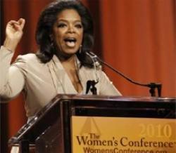 'I'm not a lesbian' says tearful Oprah Winfrey
