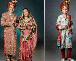Fashion designer, wife and son to renounce world