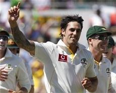 Australia fight back on second day