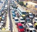 Pipeline work causes gridlock