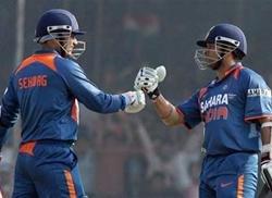 Tendulkar, Sehwag in ICC shortlist for greatest ODI team