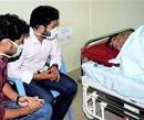 Chandrababu Naidu forcibly given IV fluids, TDP says fast on