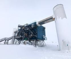 Giant observatory comes up 8,000 feet beneath Antarctic
