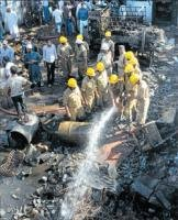 Four killed in scrap explosion