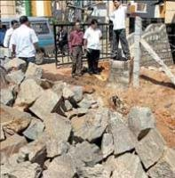 Councillors frown on delay in road widening work
