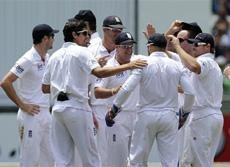 Bowlers put England on the verge of victory