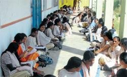 EVMs push students out of classrooms