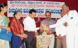 Kuvempu's 106 th birth anniversary celebrated