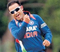 Sehwag out of ODIs