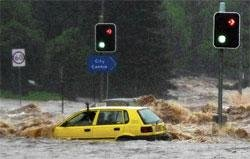 Oz city at risk from flash floods