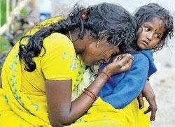 Grief hangs over families of stampede victims