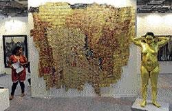 Husain's paintings to be back at art summit