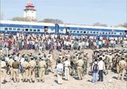 BJP cadres' train makes a U-turn