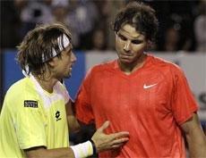 Ferrer ends Nadal's bid for 'Rafa Slam'