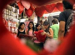 Number of break-ups rises on Valentine's Day