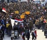 Army sides with Mubarak's transition plan, people outraged