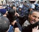 Bahrain protesters cheer as police flee