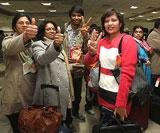 First batch of Indians return from Libya