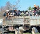 Many from State stuck in Libyan city