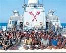 Navy captures 61 pirates