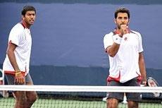 Bopanna-Qureshi pair in Indian Wells semis