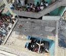 Wall falls on roof of day care centre, 13 kids injured