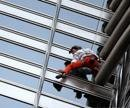 French 'Spiderman' scales world's tallest tower