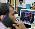 Sensex up 155 pts on FII inflows and easing inflation