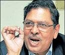 Hegde rules himself out to be head of panel on Lokpal bill