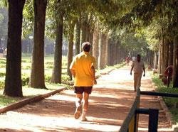 Brisk walk daily 'can help beat the blues'