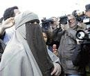 Protests in France over burqa ban