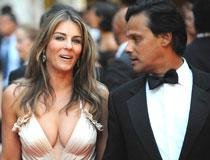 Elizabeth Hurley still enjoys Arun Nayar's company