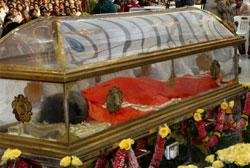 Casket not ordered by us, clarifies Sai Trust