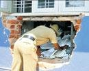 Cash, gold burgled from bank