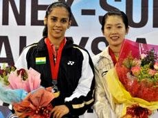 Saina falters in finals, ends runner-up in Malaysia