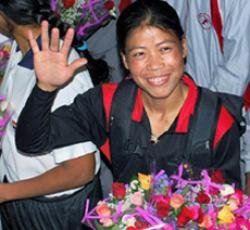 Mary Kom strikes gold in Asian Cup